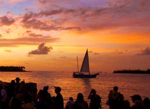 photo of key west sunset