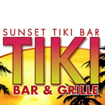 photo of sunset tiki bar