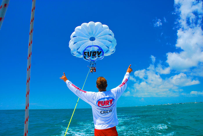 Image of Parasailing in Key West
