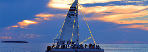 christmas in key west lighted boat parade