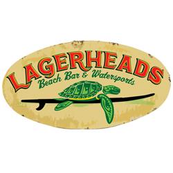Lagerheads Beach Bar logo