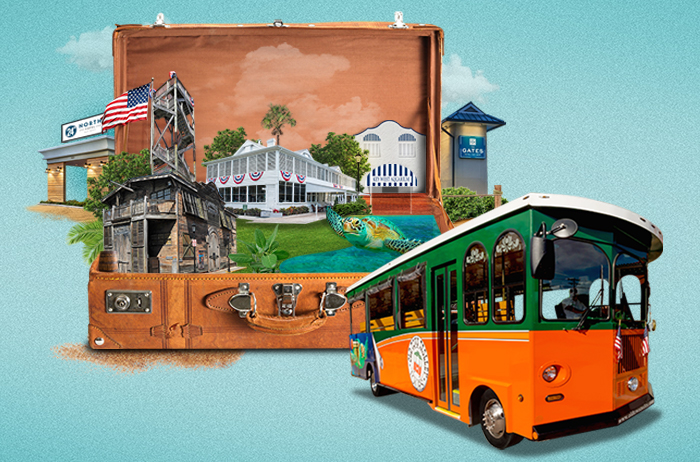 Old Town Trolley Package