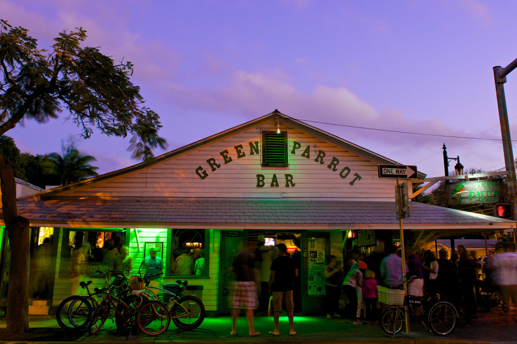 Image of Green Parrot Bar