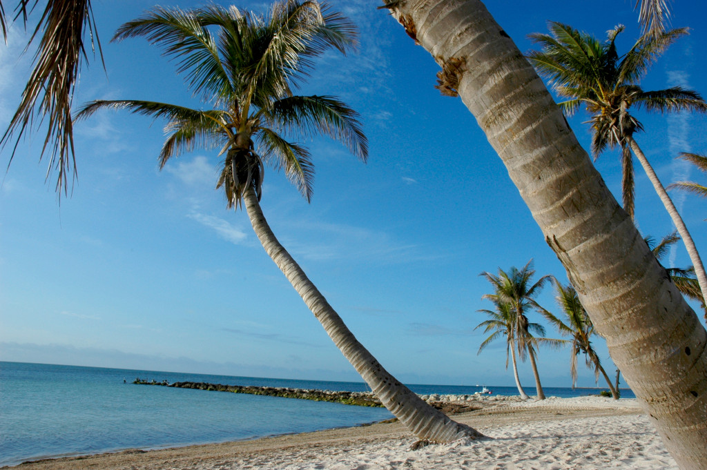 Image of beach in Key West