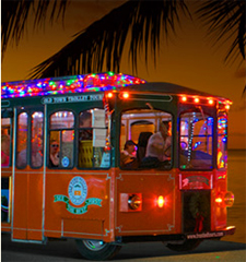 Holiday Lights and Sights Trolley