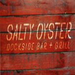Salty Oyster Dockside Bar + Grill logo