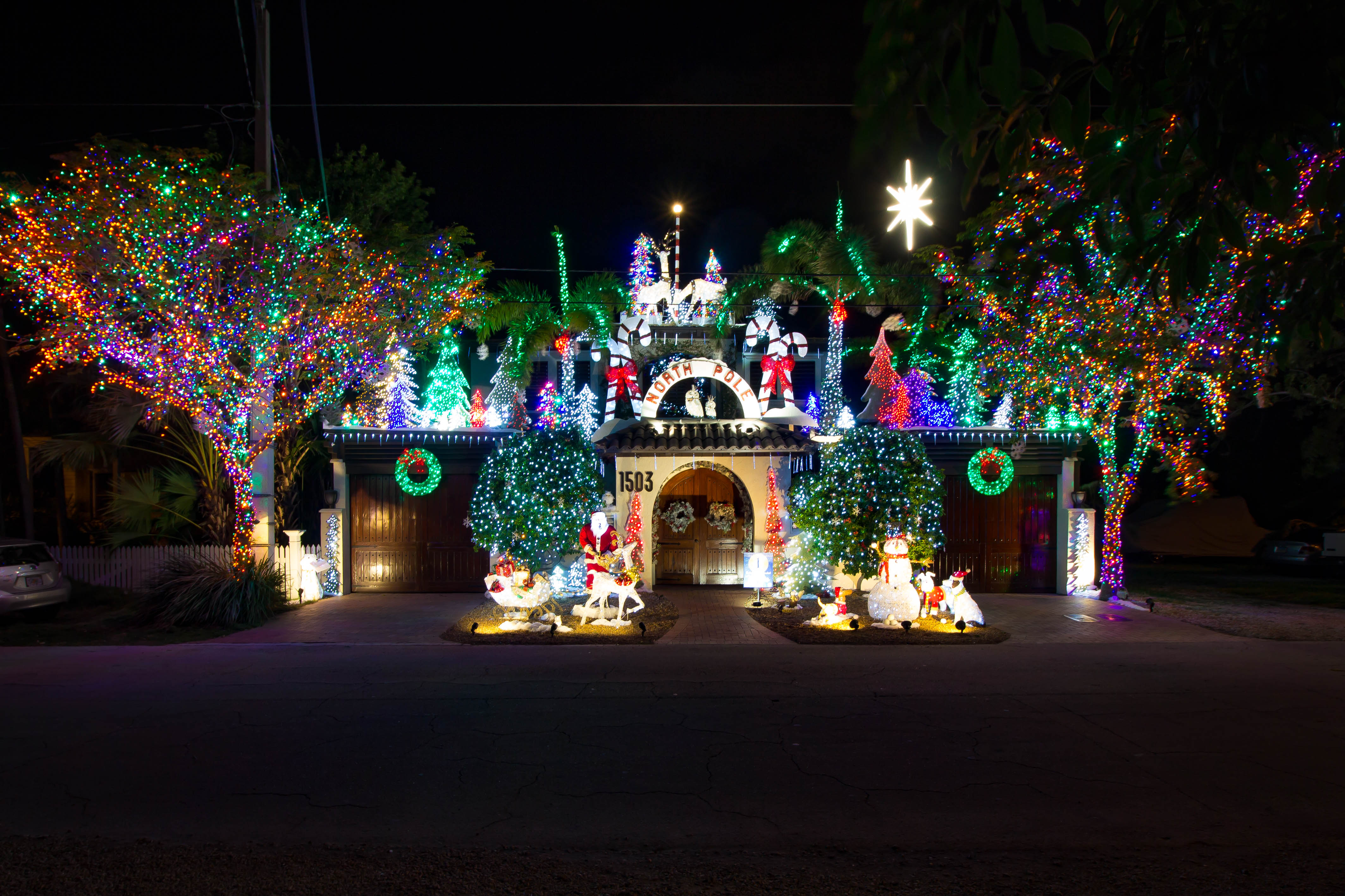 Conch Tour Train Holiday Lights Tours