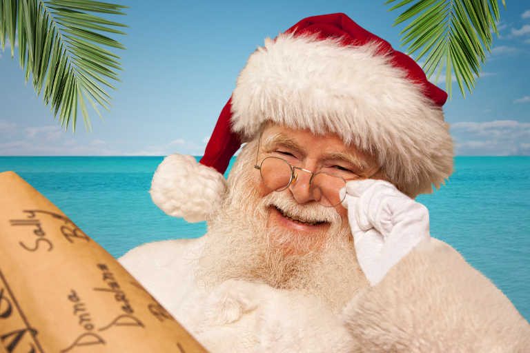 Santa Claus in Key West