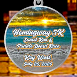 Hemingway 5 K Sunset Run and Paddleboard Race