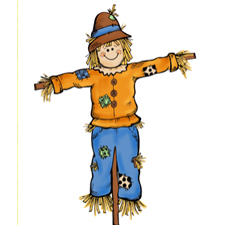Scarecrows in the Forest
